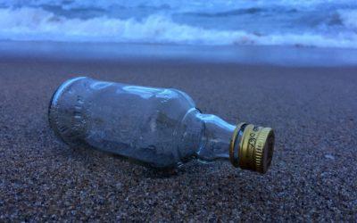 Lettre de Jojo le farfadet  : Une bouteille à la mer