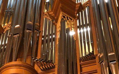 Visite de l'orgue de la Collégiale de Neuchâtel