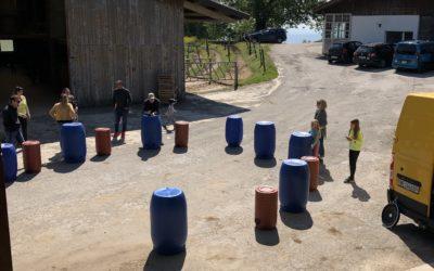 Atelier de musique à la ferme